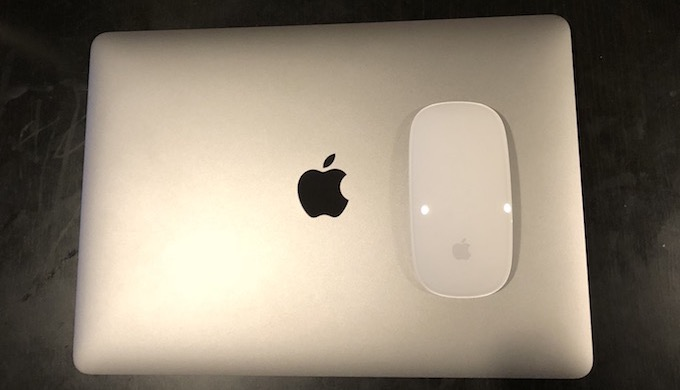 macbookproとMagic Mouse2
